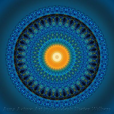 Mandala - Manhole Cover - 9 n 60x60 cm