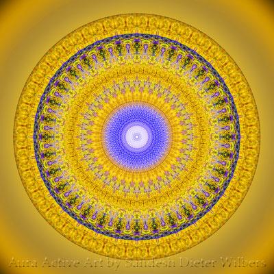 Mandala - Manhole Cover - 6bu n 60x60 cm