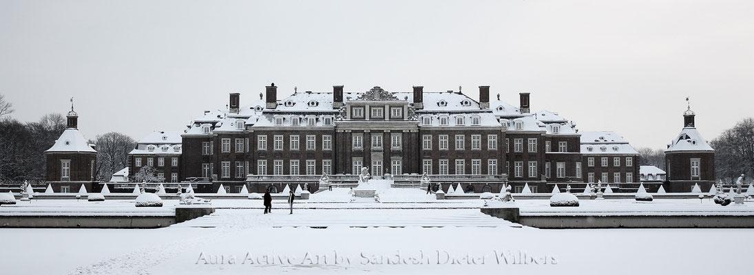 Schloss Nordkirchen im Winter - vu 55x150 cm