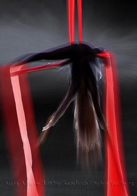 Akrobatik 2  70x100 cm