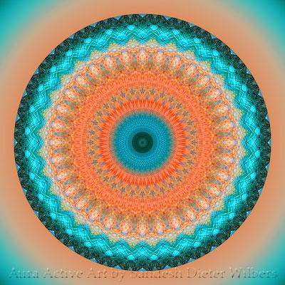 Mandala - Manhole Cover - 3 lum n 60x60 cm