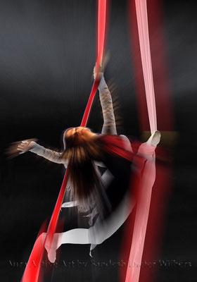 Akrobatik 5  70x100 cm