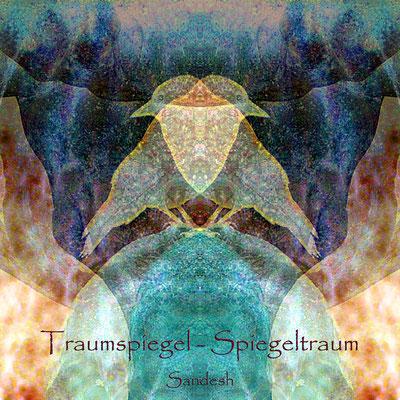 000b Titel Traumspiegel-Spiegeltraum - H  40x40 cm
