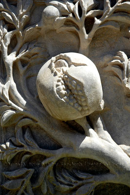Granatapfel Relief 2  - Granada  40x60