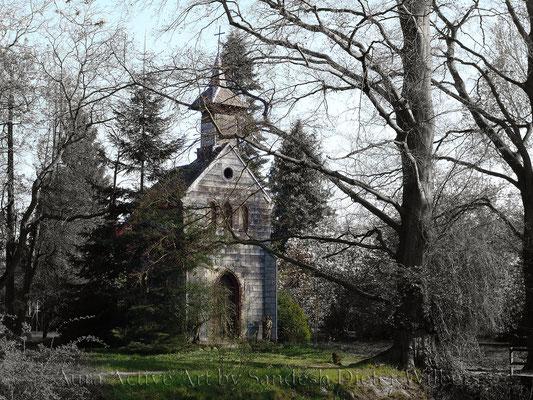 Kapelle bei Pellengahr  - SW2neu  80x60 cm