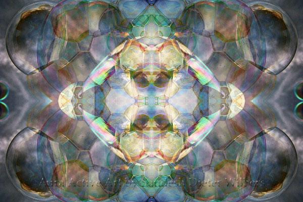 Spiegelblasen - n  60x40 cm