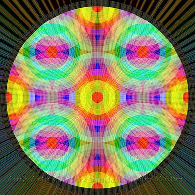 114 Kreise B2 extended 9 U h H  60x60 cm
