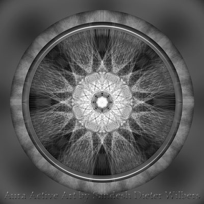 Below the Bridge Mandala - basis 5az1NGb n 60x60 cm