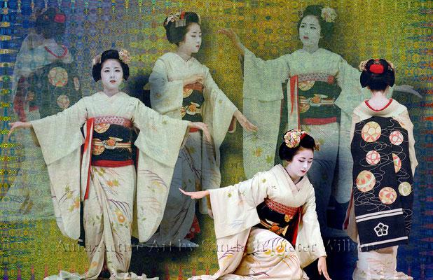 Geisha Gestures 2 - 2015  85x55 cm