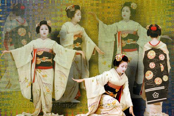 Geisha Gestures 60x40 cm