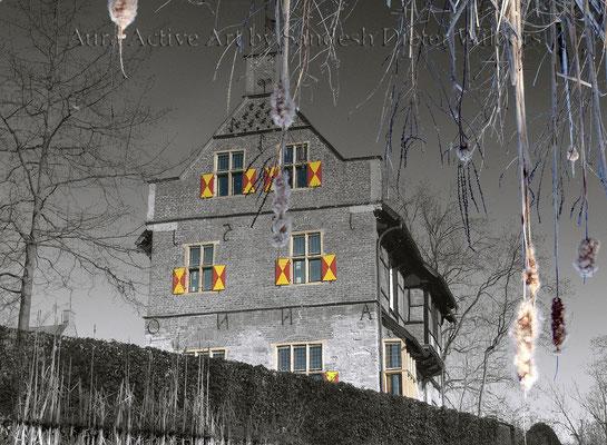 Haus Bisping neu 2016  75x55 cm