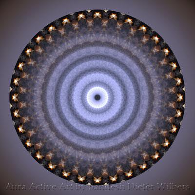 Mandala - Japabima Mandala Titel - voll 7 n 60x60 cm