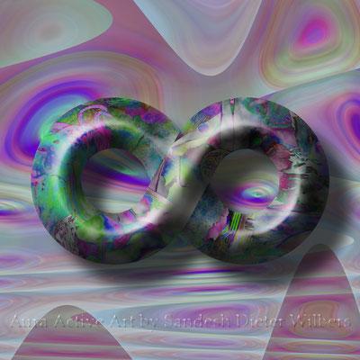 8 Transcendence  70x70 cm - 50x50 cm
