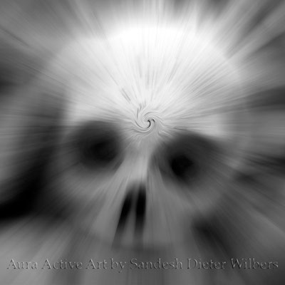 Contemplating Death 2  50x50 cm