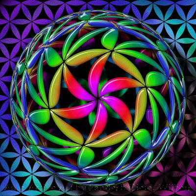 15 Roll Deinen Ball  70x70 cm - 50x50 cm
