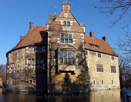 Burg Vischering 90x70 cm