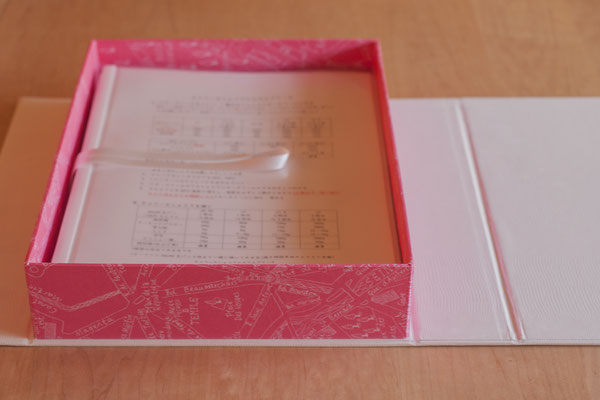 LL(A4 RecipeFile) Book type Full lining, with Magnets, Fleur*Fleur*