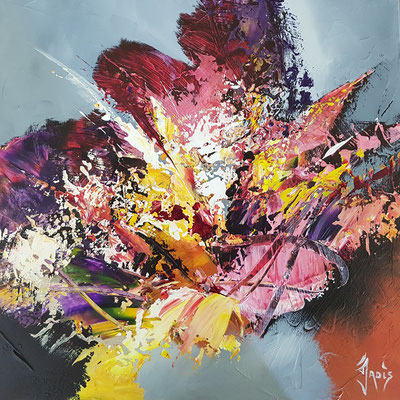 Instant fleuri   50 x 50