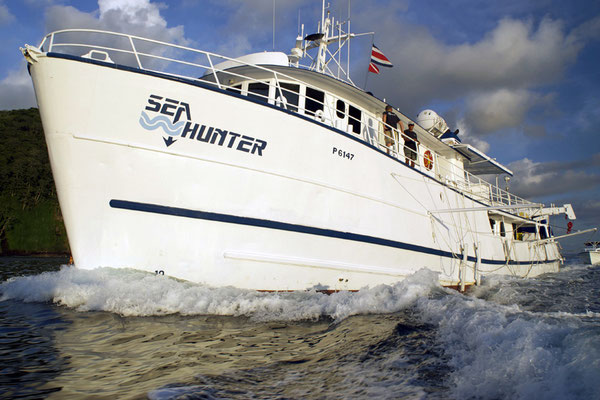 The ship Seahunter in Cocos Island, ©Unterseahunter Group