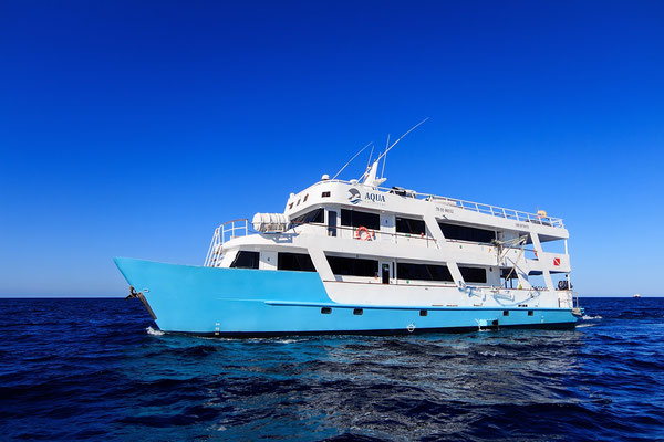 Liveaboard vessel in the Galapagos Islands