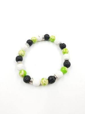 Bracelet avec pierres semies-précieuses 15$