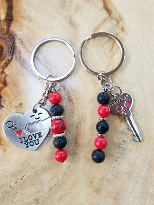 Ensemble porte clés amour 25$