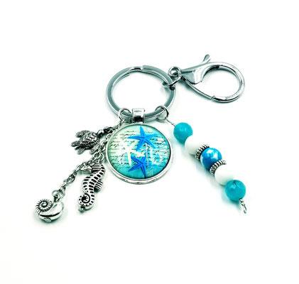 Porte clés étoile de mer 15$