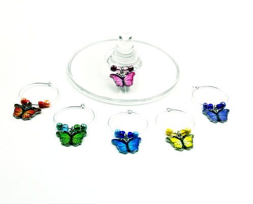 Marques verres papillons 15$