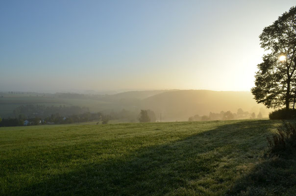 Niederbonrath bei Sonnenaufgang