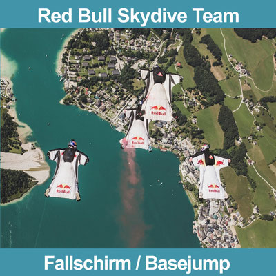 Buchen Sie Red Bull Skydive Team!