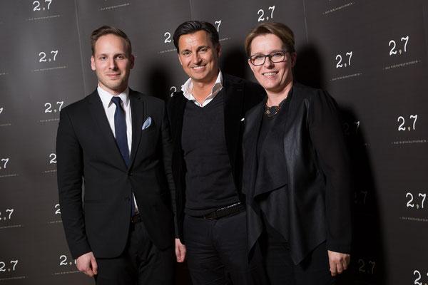 2,7 Wirtschaftsforum 2016: Wolfgang Kapuy, Mag. Heralic, KR Doris Kapuy