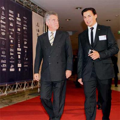 Gala Nacht des Sports 2010: HBP Dr. Fischer & Mag. Heralic