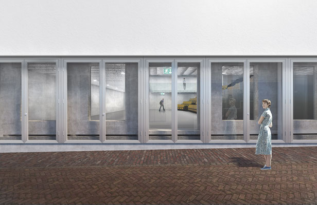 BAK Utrecht exterieur in opdracht van Goldsmith