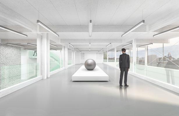 BAK Utrecht interior for Goldsmith