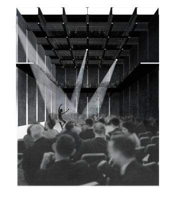Interior theatre Vierhavensstraat Rotterdam