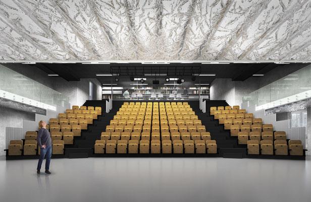 BAK Utrecht interieur in opdracht van Goldsmith