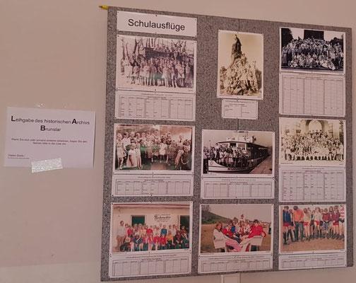 Bilderausstellung von ehemaligen Schülern und Lehrern ab 1900