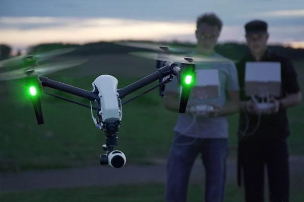 Drohnen-Testflug Bild 2