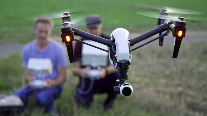 Drohnen-Testflug Bild 1