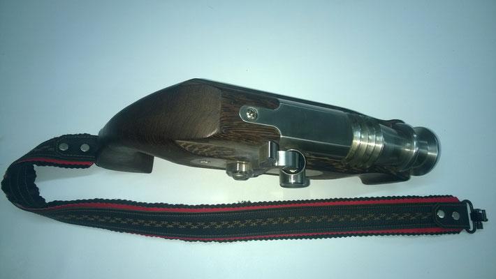 cal. 20mm, Holz: Wenge