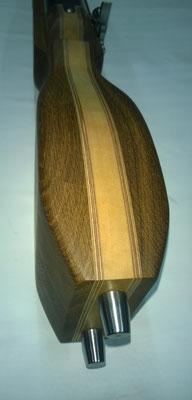 cal. 40mm, Holzart: Eiche dunkel gebeizt/geölt- Ahorn geölt-mit 8mm Mehrschichtplatten