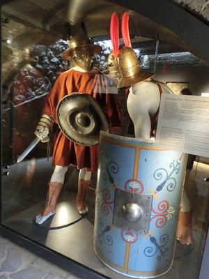 Details der Gladiatorenausrüstung