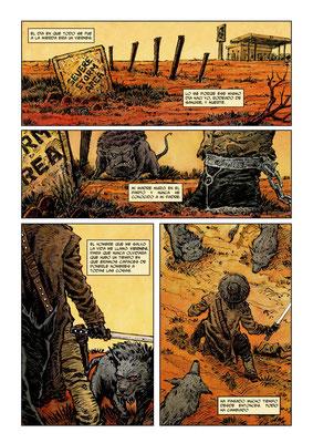 Guion de Daniel Estorach y dibujos de Juan Alberto Hernández