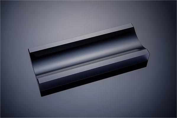 Stifteschale von Black Glass aus Schwarzglas