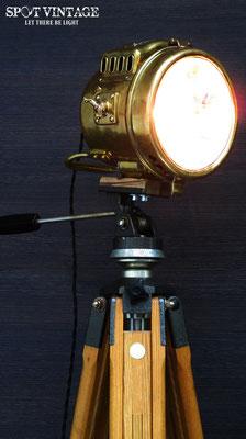 KarbidSpot Lampe von Spot Vintage