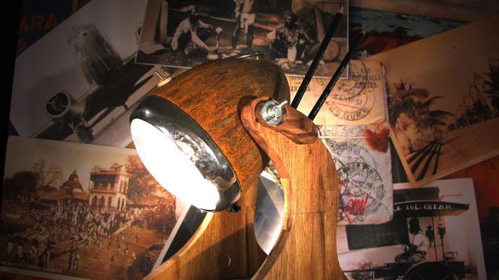 Woodpecker Lampe von Spot Vintage