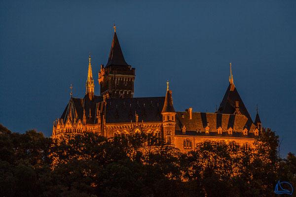 Wernigerode bei Nacht - Schloss