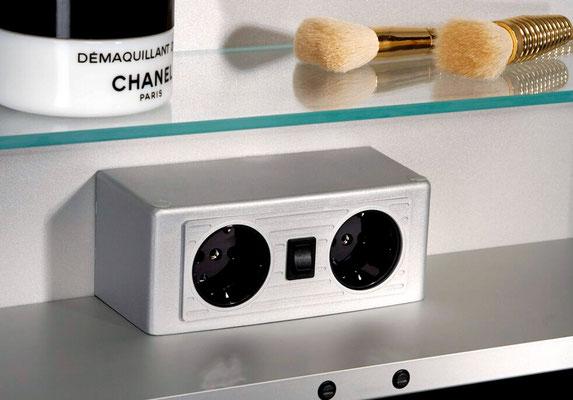 HSK E-Box für den Spiegelschrank, Foto © HSK