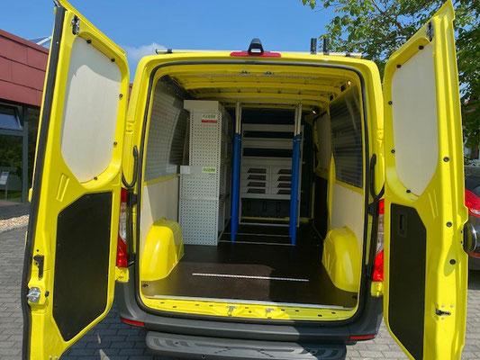 Transporter für unsere Handwerker