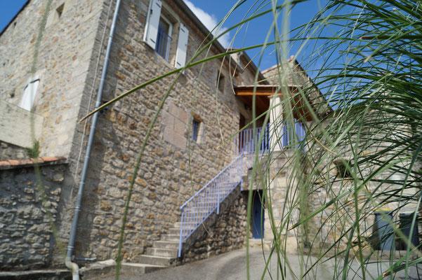 Accès au gîte l'Oustal - Domaine de l'Amourié
